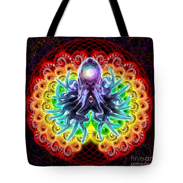 Reaching Out Tote Bag by Tony Koehl