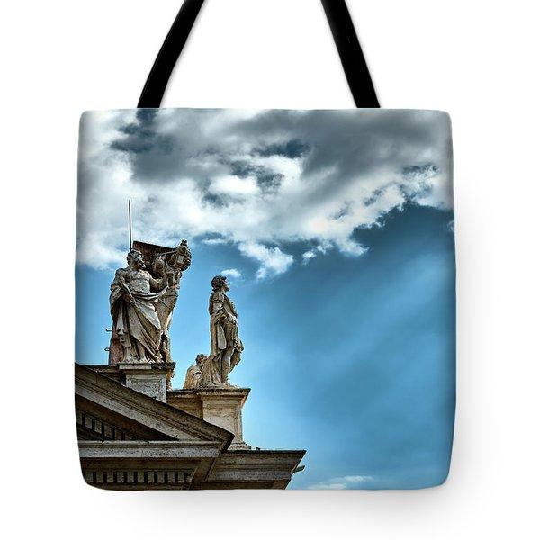 Reaching The Sky Tote Bag