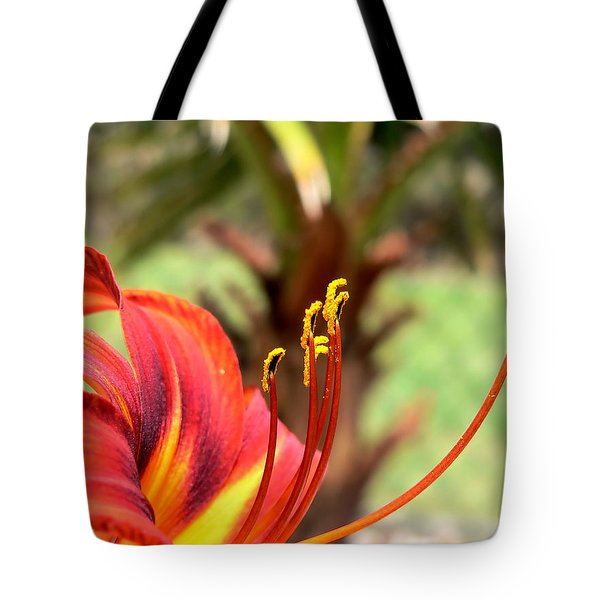 Reaching Upward Tote Bag
