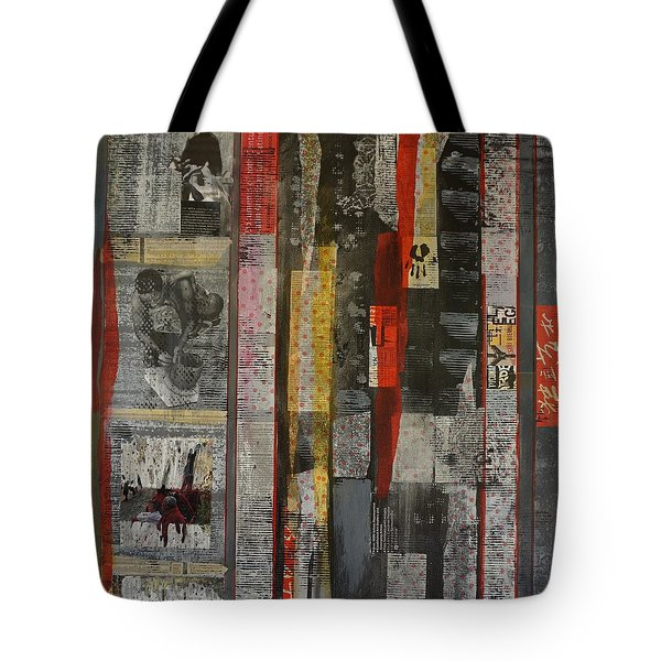Reading Between The Lines Tote Bag