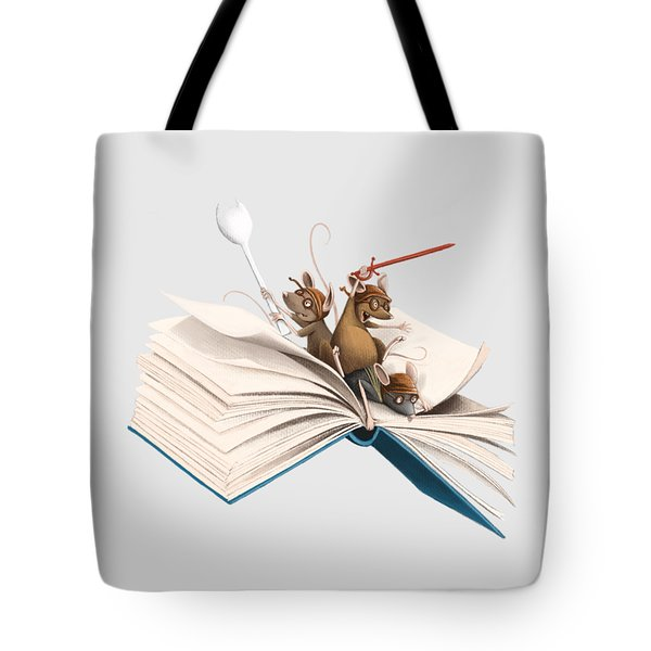 Reading Is An Adventure Tote Bag