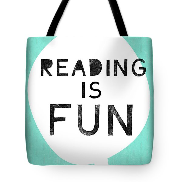 Reading Is Fun- Art By Linda Woods Tote Bag