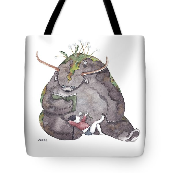 Reading Time Tote Bag