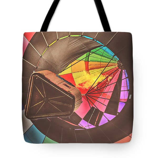Readington Balloon Festival #1 2015 Tote Bag