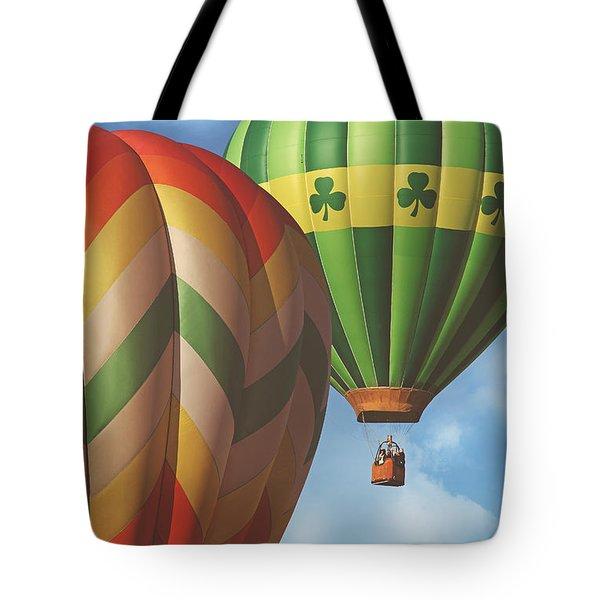 Readington Balloon Festival #2 2015 Tote Bag