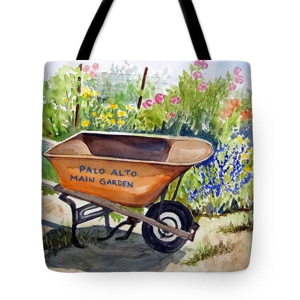 Ready At The Main Garden Tote Bag