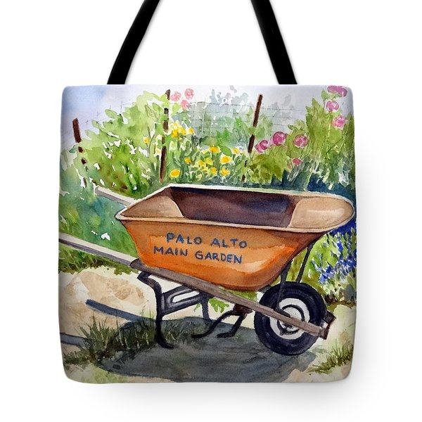 Ready At The Main Garden Tote Bag