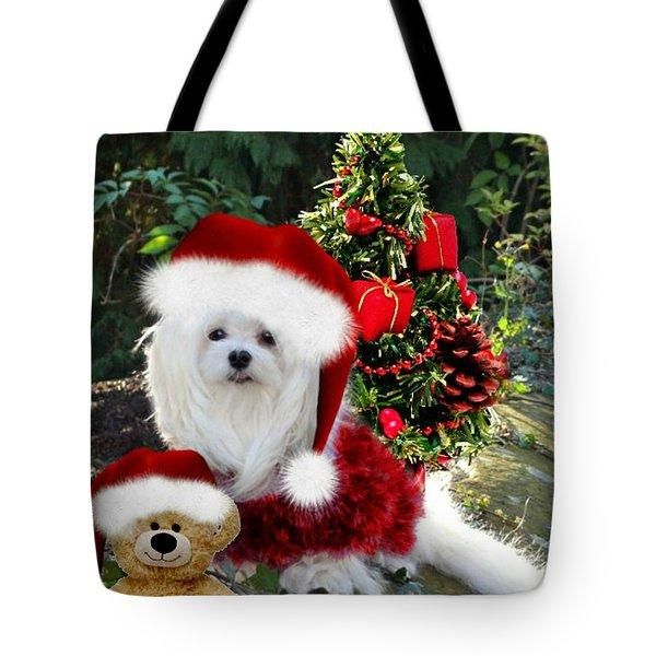 Ready For Christmas Tote Bag