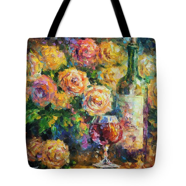 Ready For Her  Tote Bag by Leonid Afremov