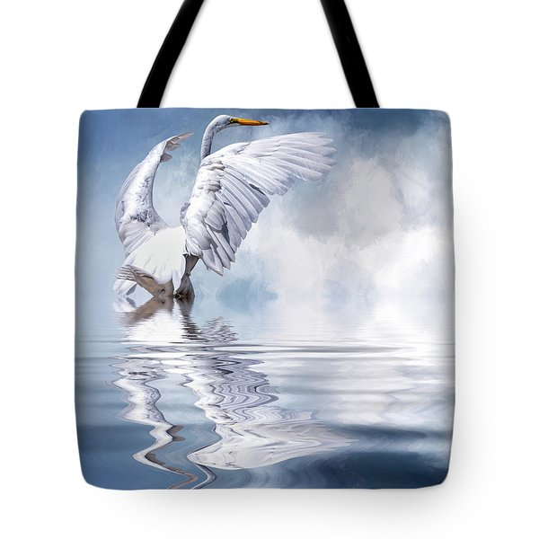 Ready For Take Off Tote Bag by Cyndy Doty