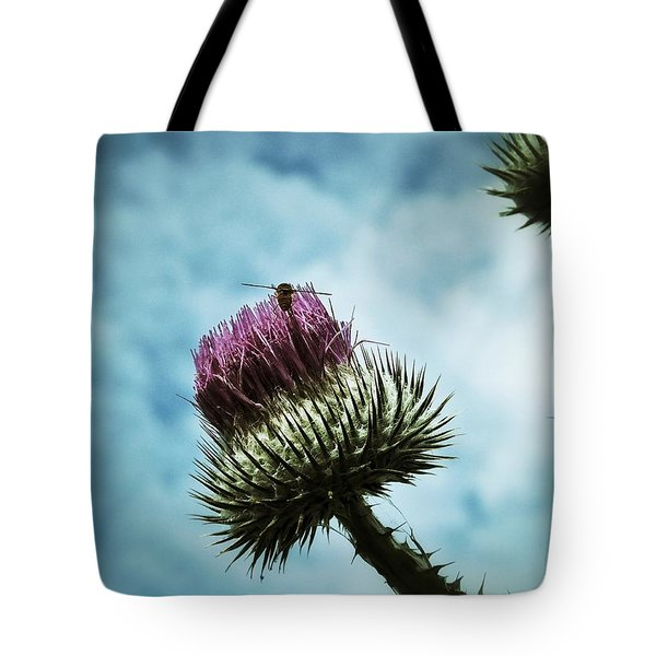 Tote Bag featuring the photograph Ready For Take-off by Karen Stahlros