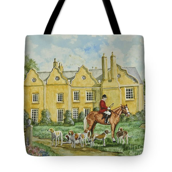 Ready For The Hunt Tote Bag by Charlotte Blanchard