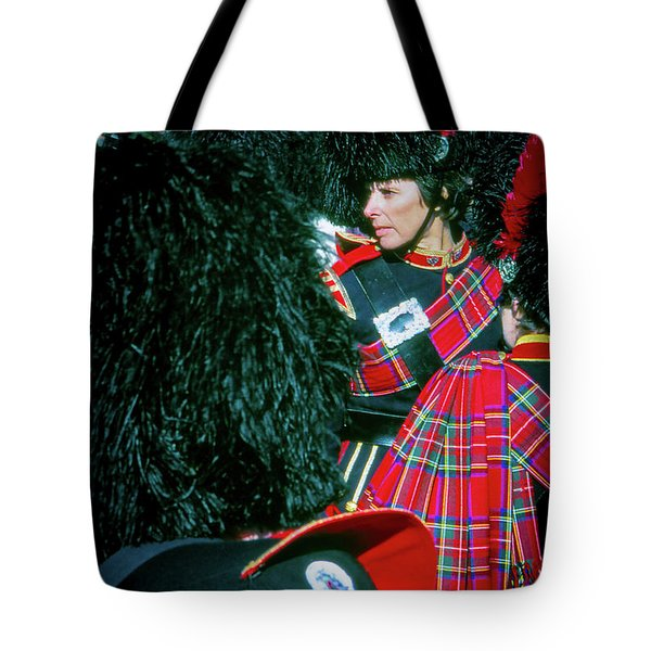 Tote Bag featuring the photograph Ready For The Parade by Samuel M Purvis III