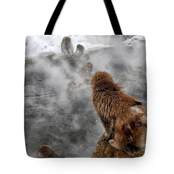 Ready For The Plunge Tote Bag