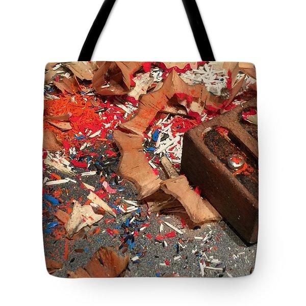 Ready-set-draw Tote Bag