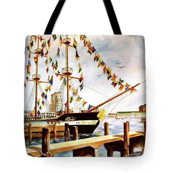 Ready The Celebration Tote Bag