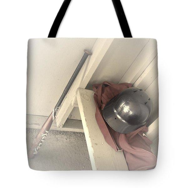 Ready To Bat Tote Bag by Shana Rowe Jackson