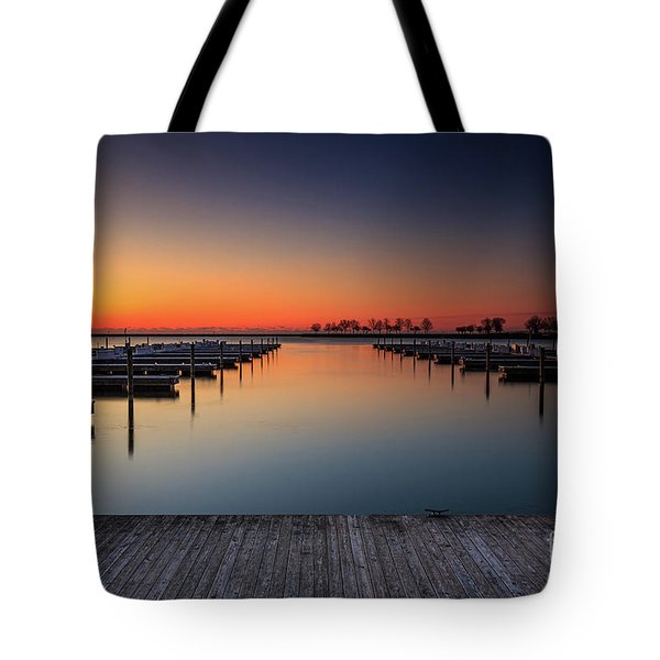 Ready To Dock Tote Bag