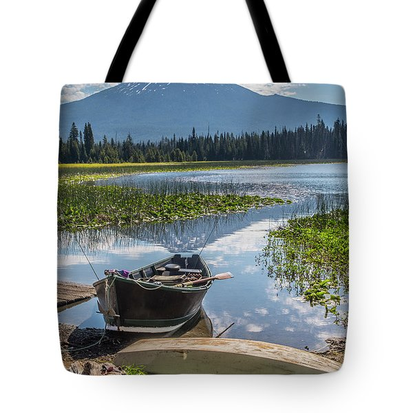 Ready To Fish Tote Bag