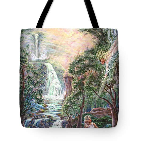 Ready To Fly Tote Bag by Joyce Jackson
