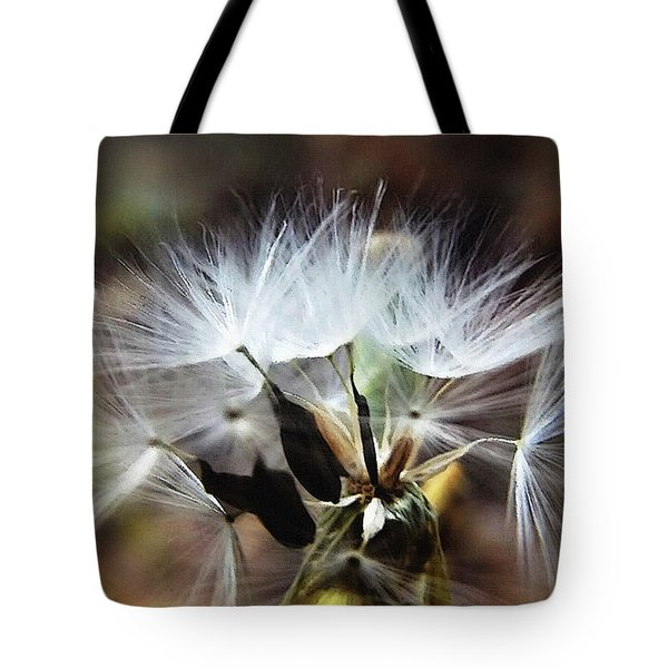 Ready To Fly... Salsify Seeds Tote Bag