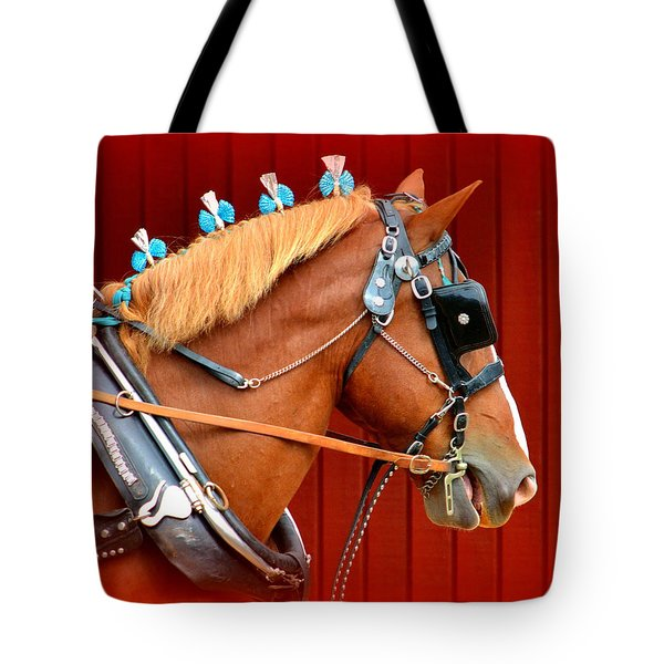 Ready To Pull Tote Bag by Lori Seaman