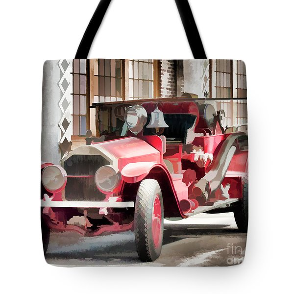 Ready To Serve Again Tote Bag by Wilma Birdwell