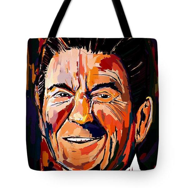 Reagan Revisited Tote Bag
