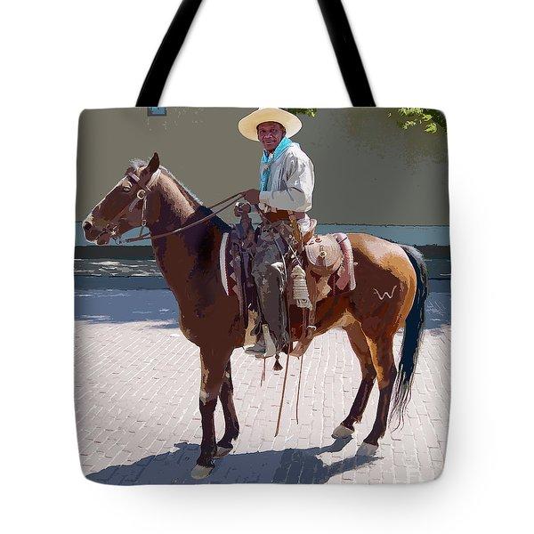 Real Cowboy Tote Bag