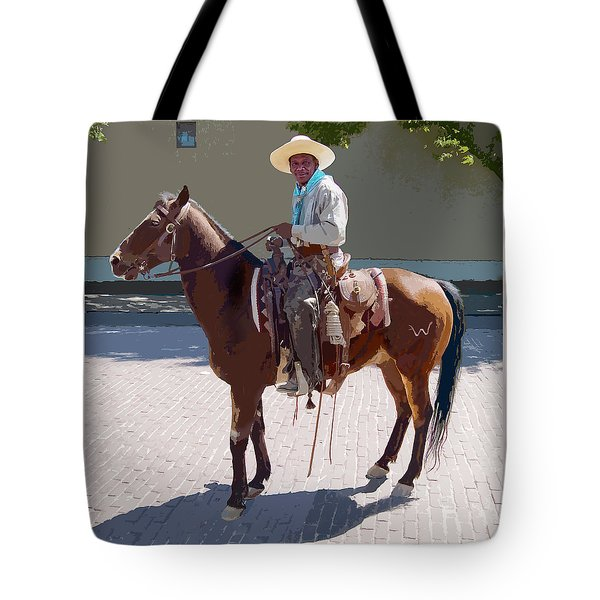 Real Cowboy Tote Bag