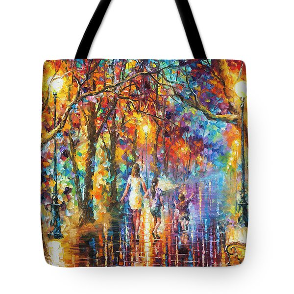 Real Dreams   Tote Bag by Leonid Afremov