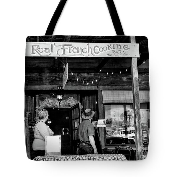 Real French Cooking Louisiana Restaurant  Tote Bag