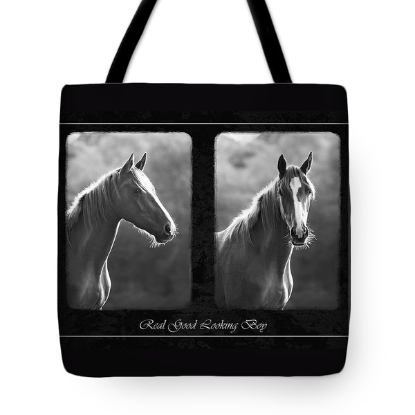 Real Good Looking Boy Tote Bag by Hazy Apple