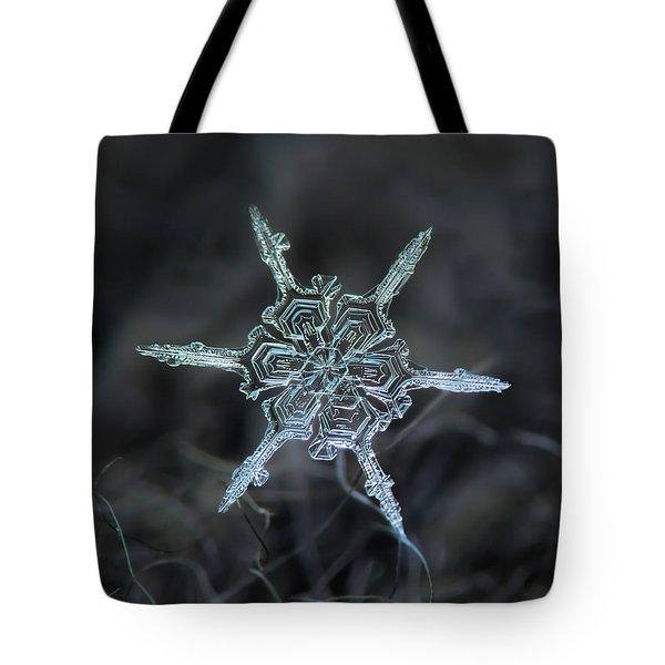 Real Snowflake Photo - The Shard Tote Bag