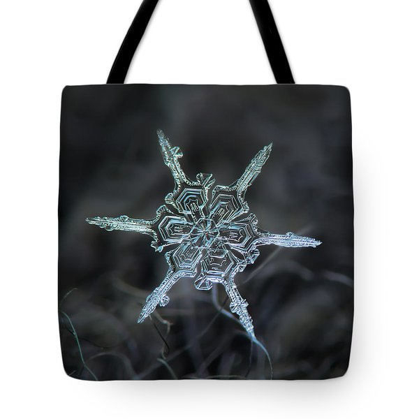 Real Snowflake Photo - The Shard Tote Bag
