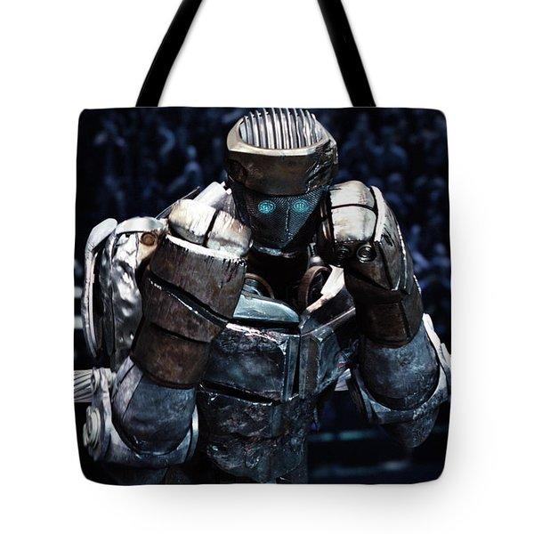 Real Steel Atom Tote Bag