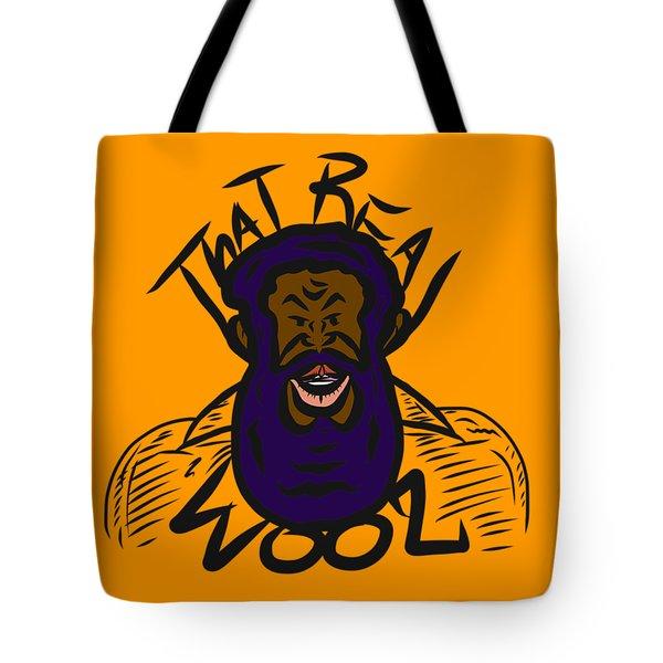 Real Wool Gold Tote Bag