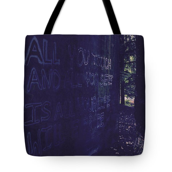 Reality Gap Tote Bag
