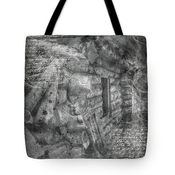 Reality Tote Bag by Nadine Berg