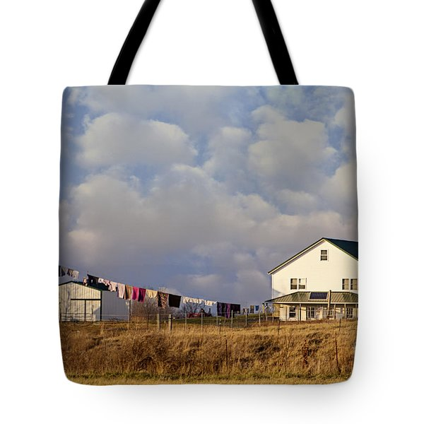Really Long Clothesline Tote Bag