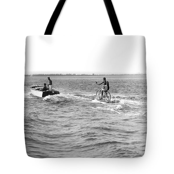 Really Riding The Waves Tote Bag
