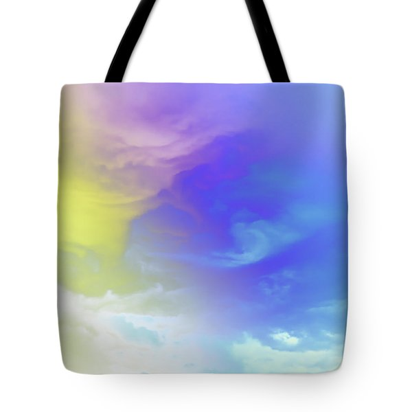 Realm Of Angels Tote Bag
