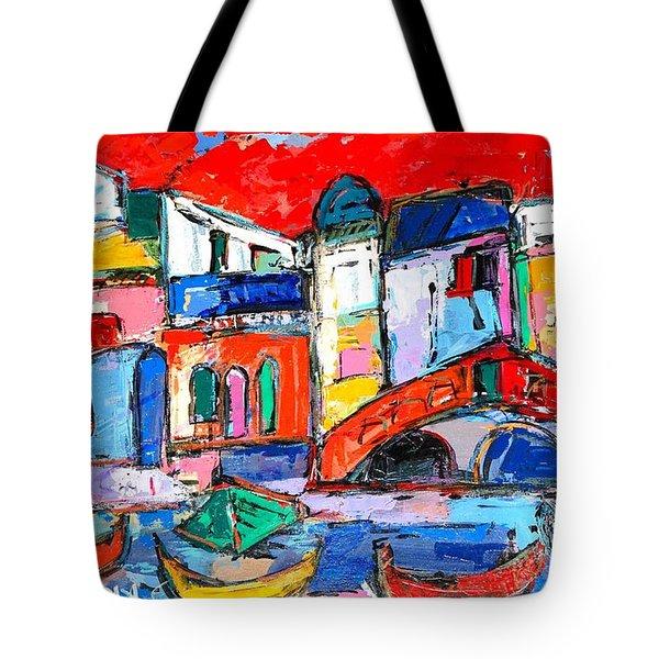 Rialto Venice Tote Bag