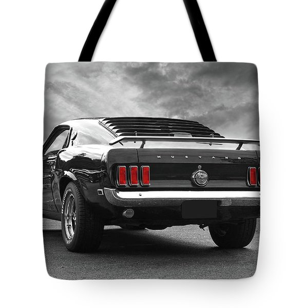 Rear Of The Year - '69 Mustang Tote Bag