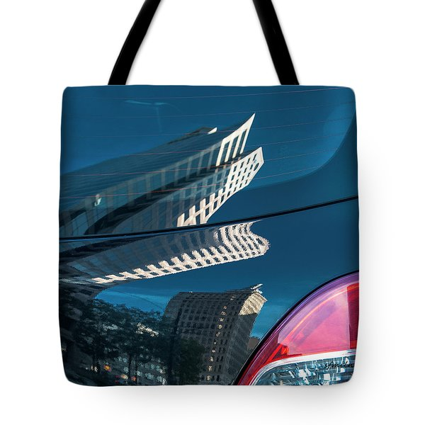 Rear Reflections Tote Bag