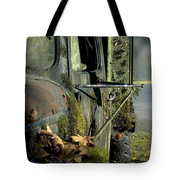 Rearview Tote Bag
