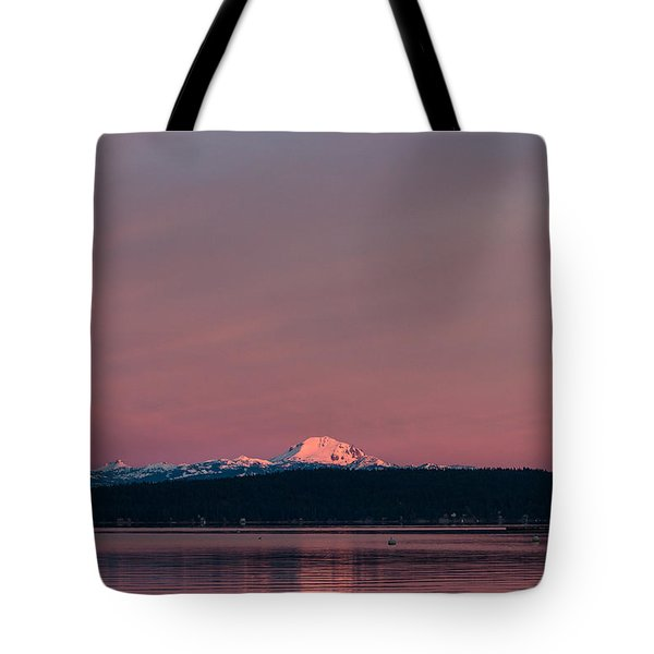 Tote Bag featuring the photograph Reason To Get Out Of Bed by Jan Davies