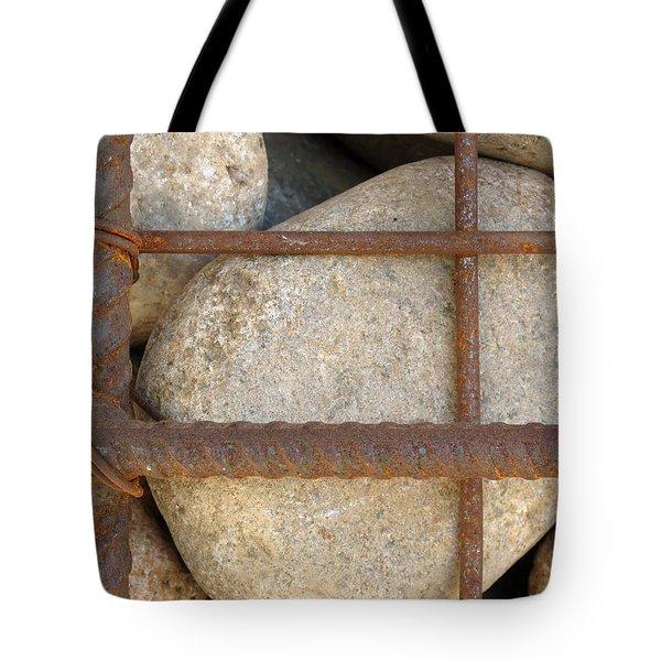 Rebar And Rocks Tote Bag