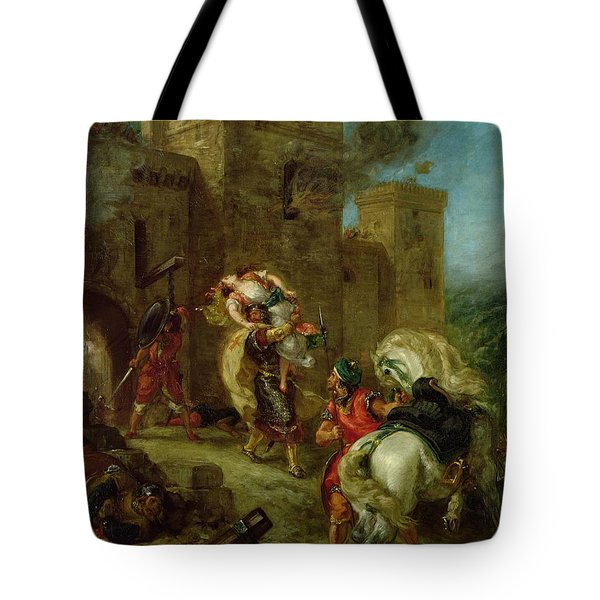 Rebecca Kidnapped By The Templar Tote Bag