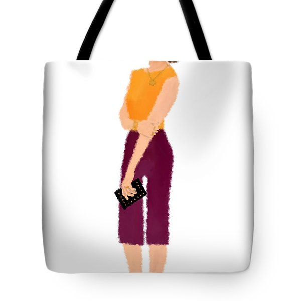 Tote Bag featuring the  Rebecca by Nancy Levan